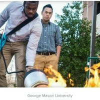 Engineering students extinguish fire with sound - CNET