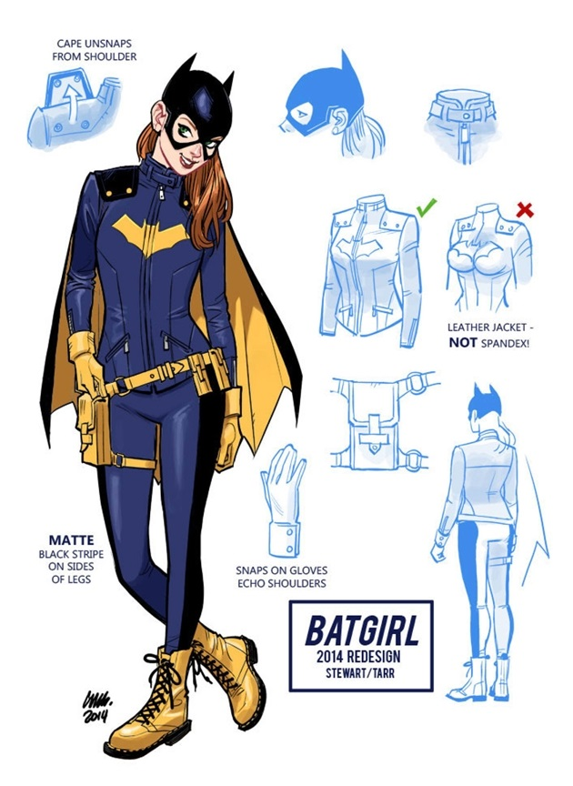 Batgirl's New Look