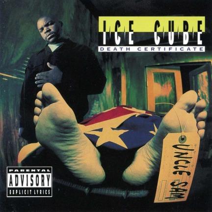 ice cube death certificate album cover