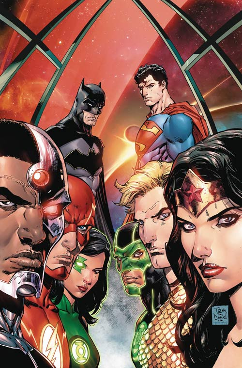 Justice League: Rebirth #1