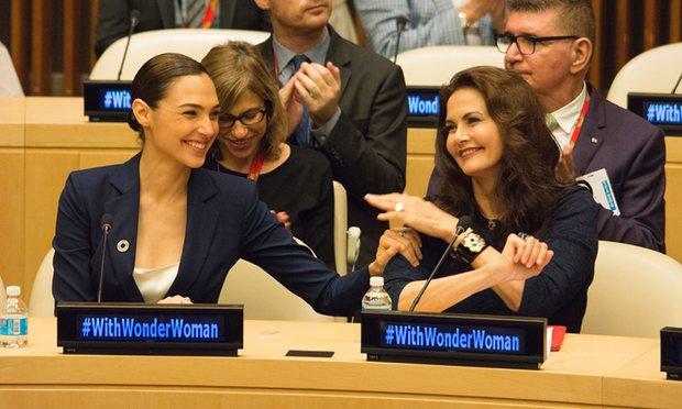 #WithWonderWoman
