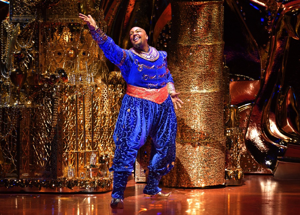 Anthony Murphy (Genie) - Cadillac Palace Theatre in Chicago