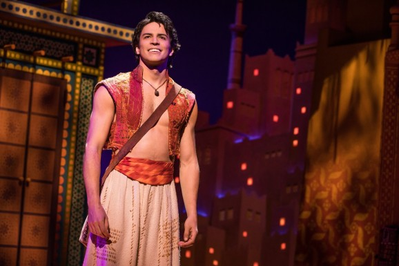 Jacob Dickey as Aladdin - Photo by Matthew Murphy