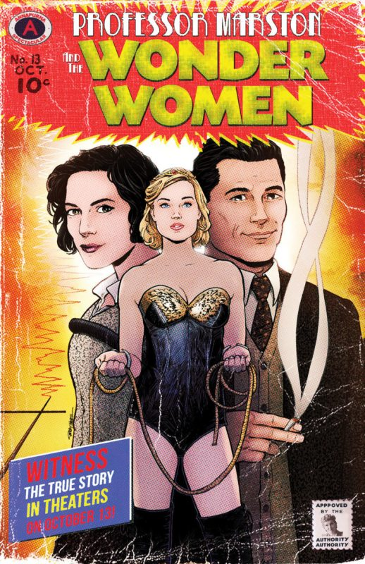 Terry Moore Poster for Professor Marston and the Wonder Women