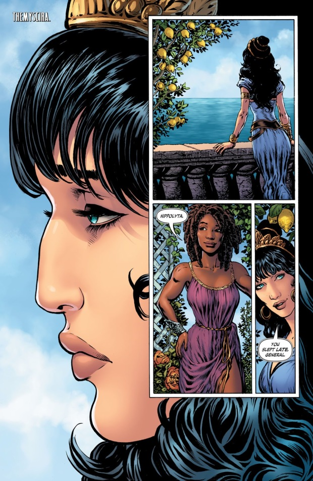 Hyppolyta and Philippus, Diana Prince, Wonder Woman, The Deep End Review