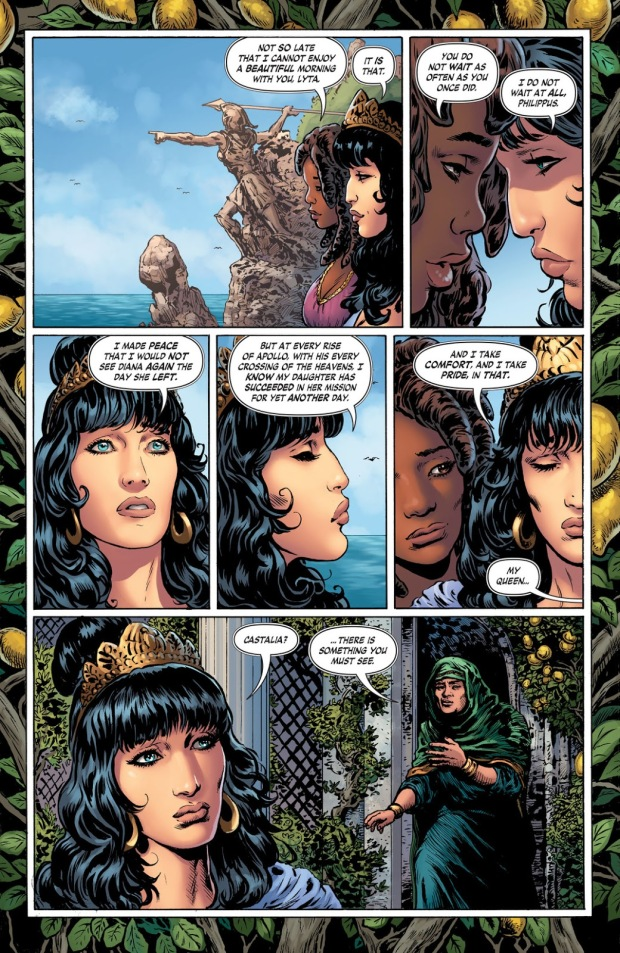 Hyppolyta and Philippus, Wonder Woman, Themyscira, Greek Profile, The Deep End Review