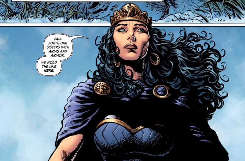 Amazons, Queen Hyppolyta, General Philippus, Wonder Woman